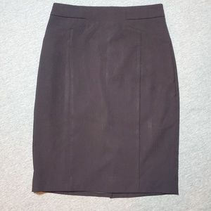 Ann Taylor Classic Black Pencil Skirt Size 0